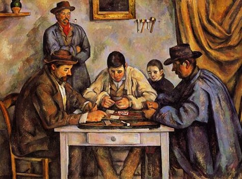 Cezanne - Card Players