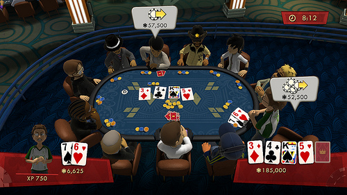 Full House Poker Screenshot