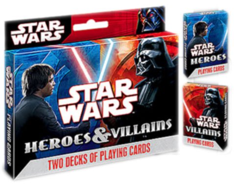 Star Wars Poker Cards
