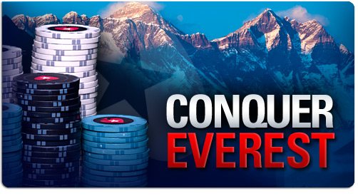 Conquer Everest - PokerStars promotion