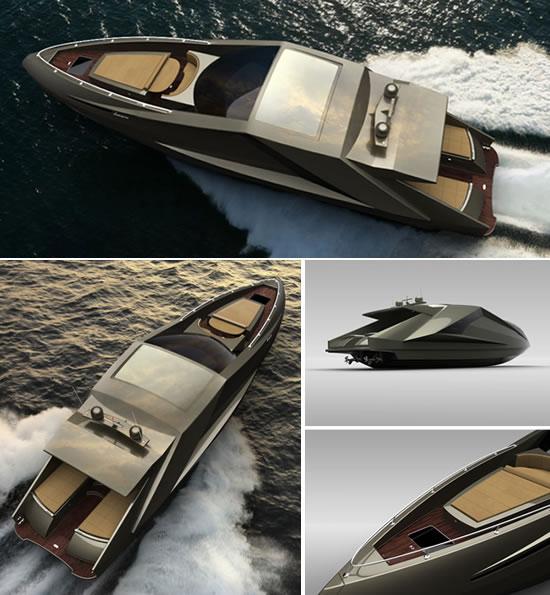 Concept - Lamborghini Yacht