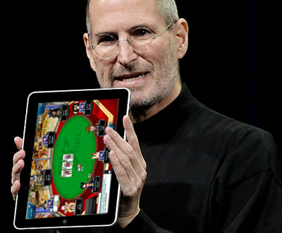 iPad and online poker