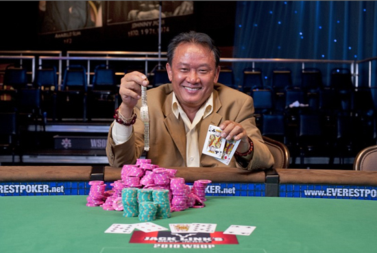 Men 'The Master' Nguyen at the WSOP